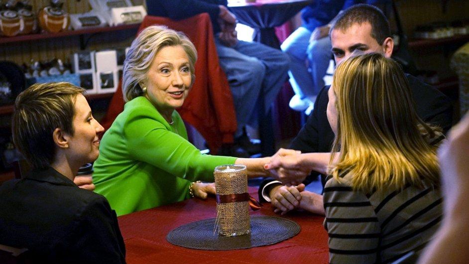 Hillary Clintonová zahájila nominační kampaň.