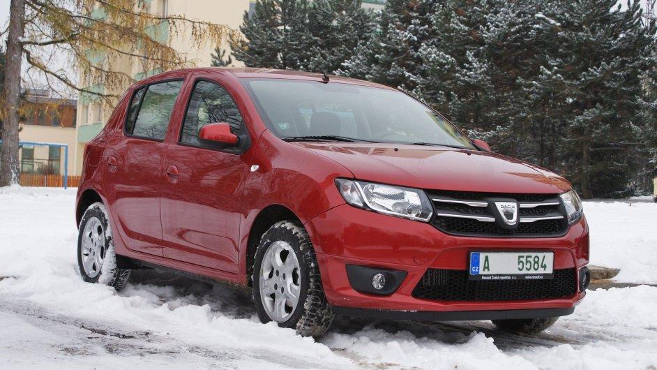 Dacia Sandero - nejlevnější malý pětidveřový hatchback a po Loganu druhé nejdostupnější nové auto na českém trhu