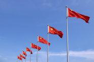 ��na, vlajka, ��nsk� vlajka, ��nsk� vlajky, peking