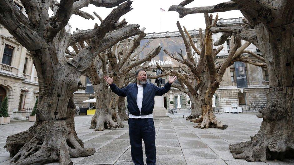 Snímky z výstavy Aj Wej-weje