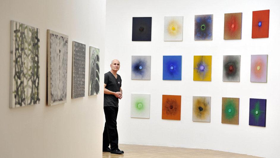 Snímky z výstavy Dalibora Chatrného