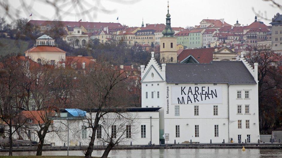 Museum Kampa na archivním snímku z roku 2012.