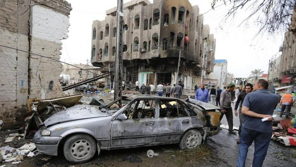 Boje v Iráku - Ilustrační foto.
