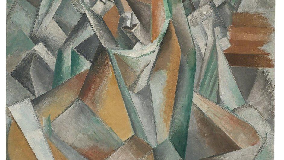 Picassův obraz z roku 1909 se francouzsky jmenuje Femme assise.