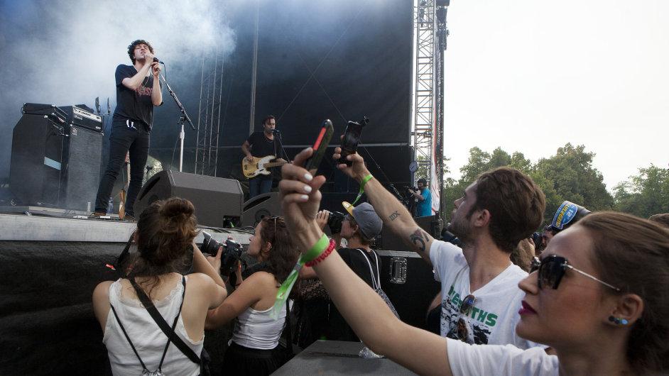 Snímek z festivalu Metronome.