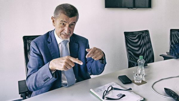 Šéf hnutí ANO Andrej Babiš chce upravit DPH a odvody na sociální pojištění.