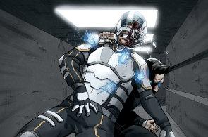 Jako by člověk četl film: Digitální komiks Nanits Chronicles přivádí lidi do alternativní budoucnosti