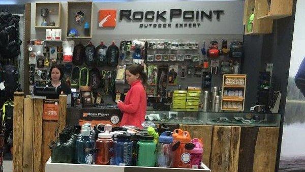 Prodejna Rock Point v OC Šestka