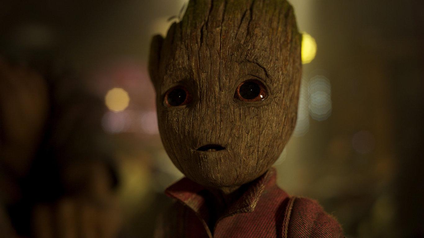 Groot nadabovaný hercem Vinem Dieselem bude ve druhém dílu drobnější a mladší než v jedničce.