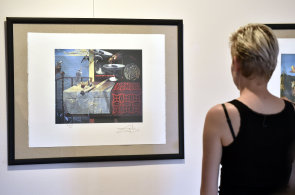 Muzeum ve Valašském Meziříčí vystavuje díla Salvadora Dalího i Čechů, kteří ho portrétovali