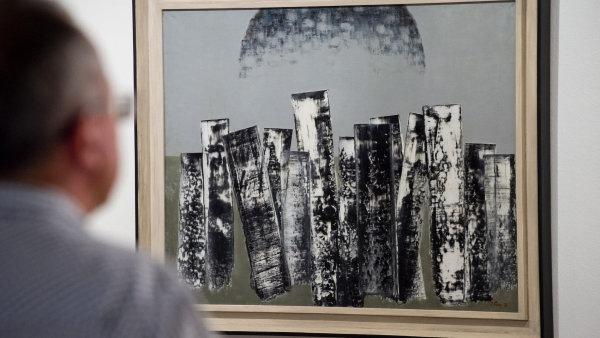 Snímek z výstavy Jaroslava Paura v Museu Kampa.