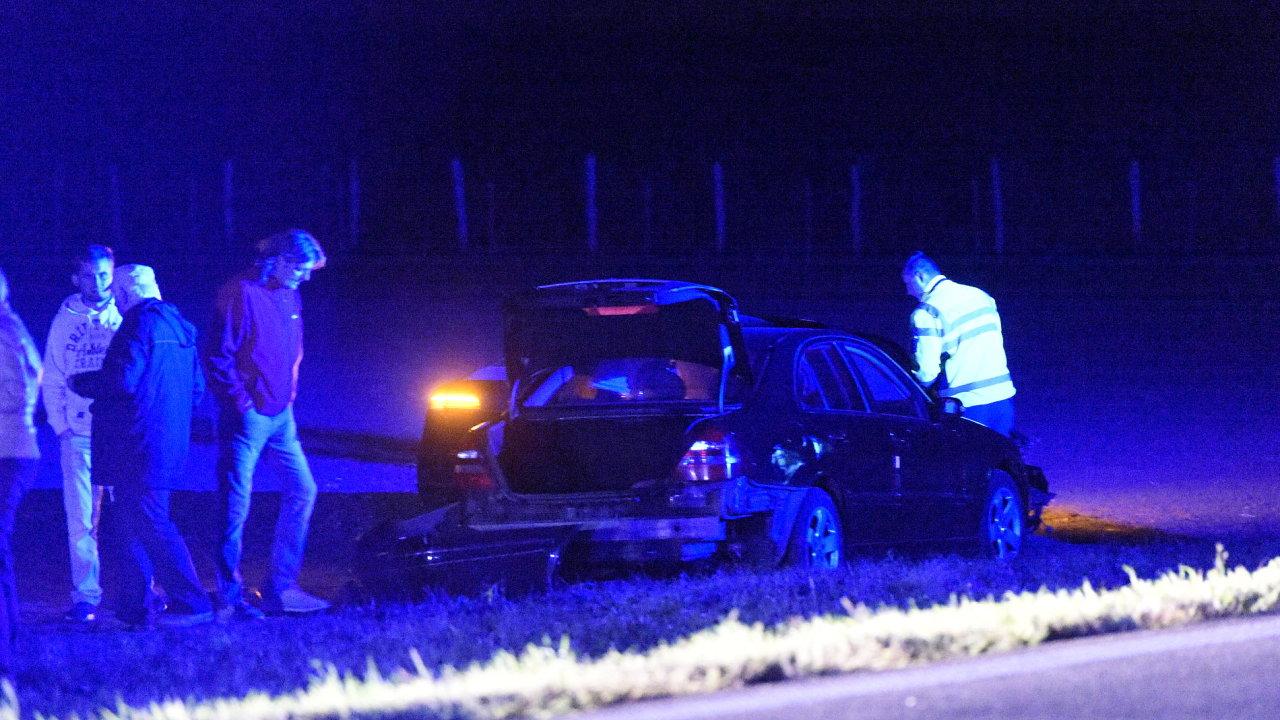 Na Znojemsku bouralo auto s člověkem, který má policejní ochranu