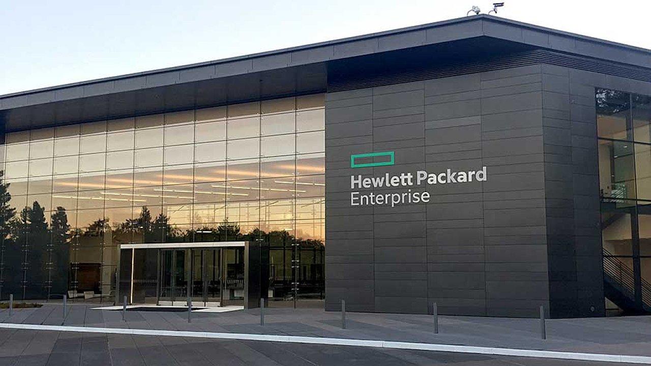 Budova Hewlett Packard Enterprise.