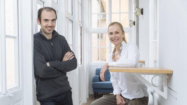 Peter Tomašovič (Mind Box) a Gabriela Teissing (Rebel&Glory).