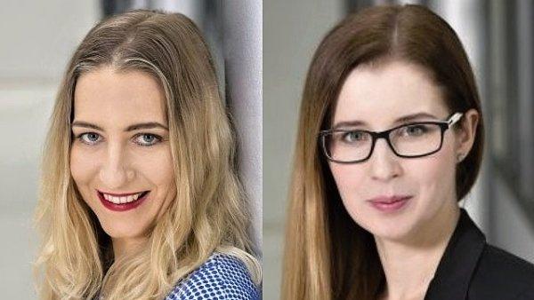 Tereza Knířová a Veronika Boráková, tým komunikace společnosti Sodexo Benefity