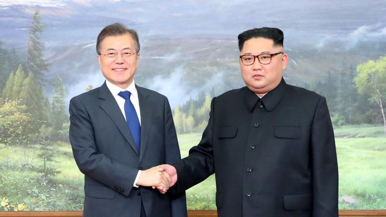 Kim čong un,  Moon Jae-in