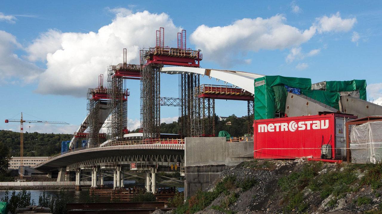 Metrostav směruje své aktivity do zahraničí.