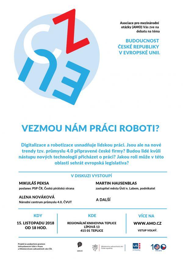 Vezmou nám práci Roboti?