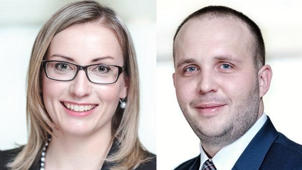 Tereza Chalupová a Ondřej Tejnský novými seniory v advokátní kanceláři bnt