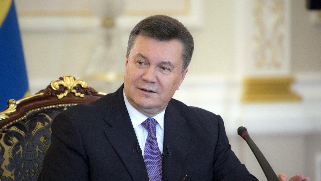 Viktor Janukovyč. Před infarktem?