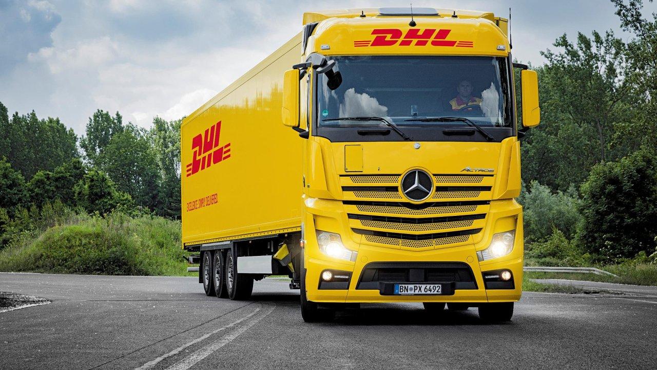 Kamion DHL Freight - ilustrační foto