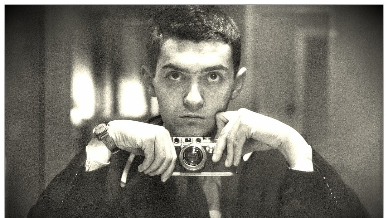Autoportrét režiséra Stanleyho Kubricka