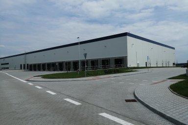Průmyslový komplex u Nýřan na Plzeňsku