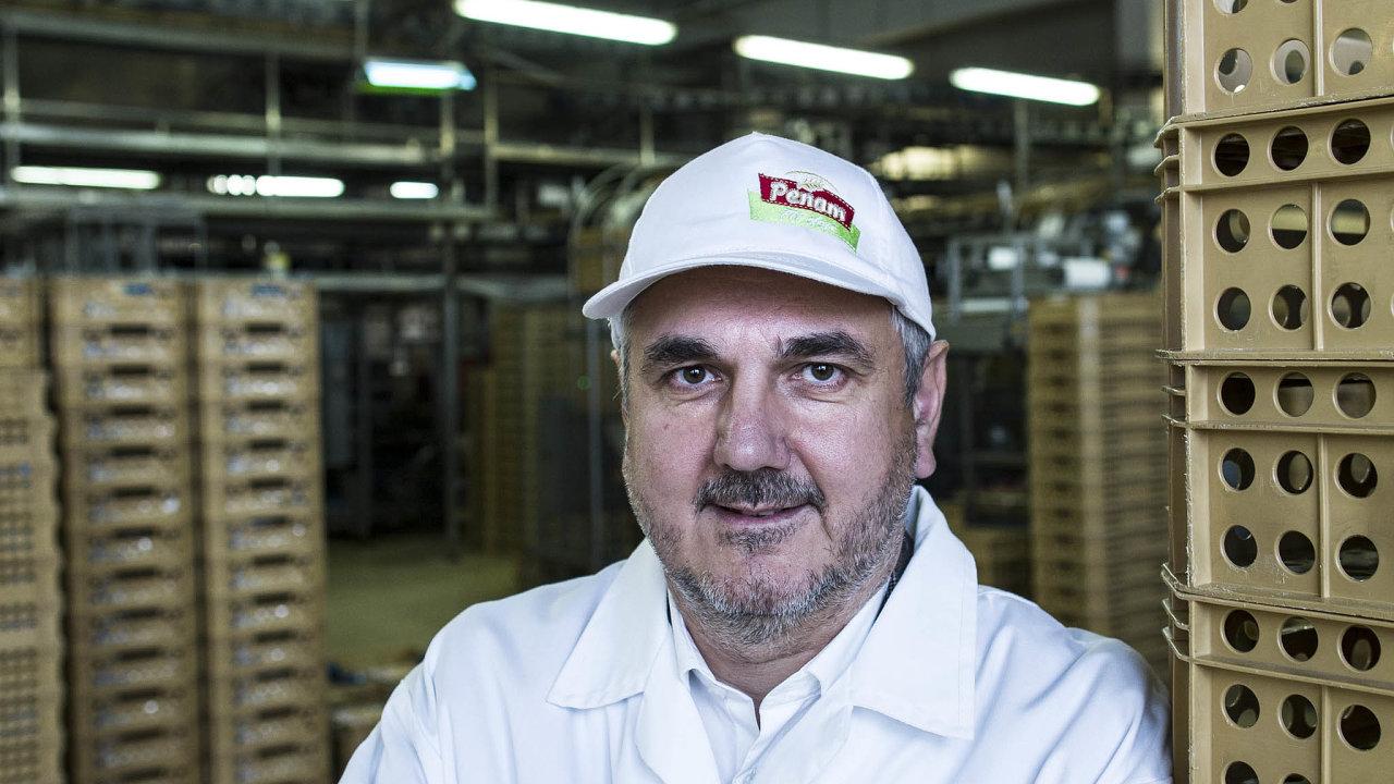 Generální ředitel Penamu Jaroslav Kurčík