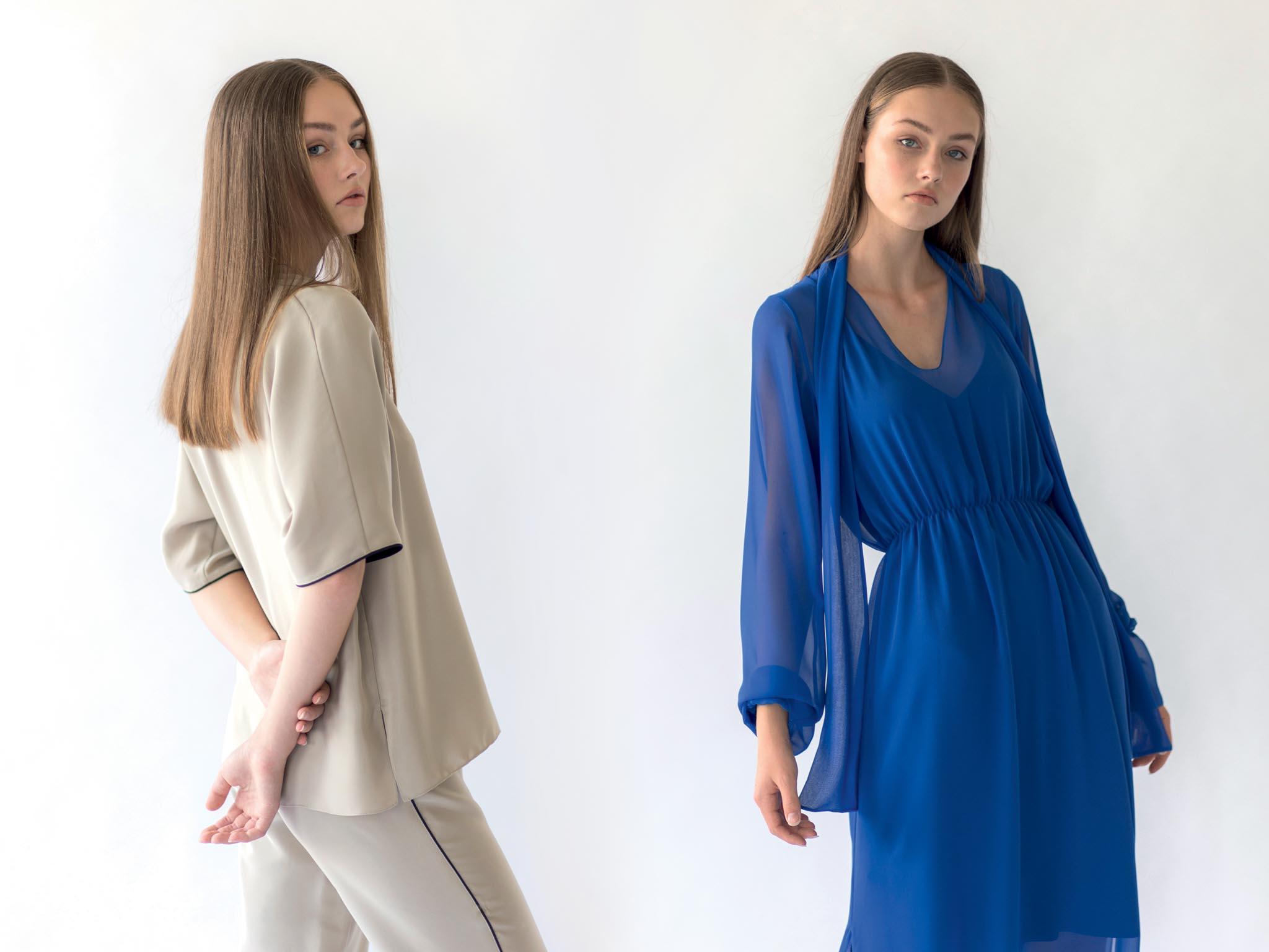 Návrhářka Zuzana Kubíčková otevírá vkavárně Cafe Cafe pop-up store své značky Pop. Kromě stálých kousků kolekce budou lákadlem ihedvábná pyžama vetřech barvách anové šifonové šaty.