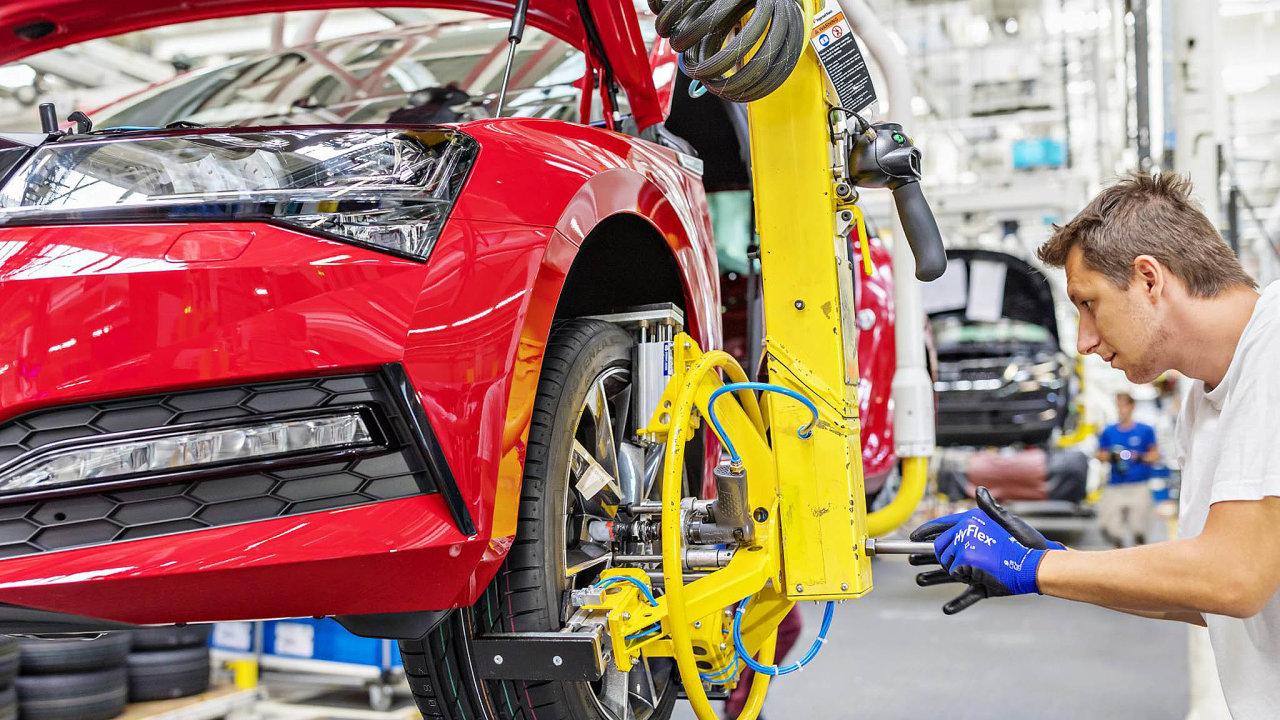 Automobilky patřily vposledních letech mezi hlavní tahouny evropské ekonomiky aidíky tomu sejejich zaměstnanci těšili nadprůměrným mzdám.