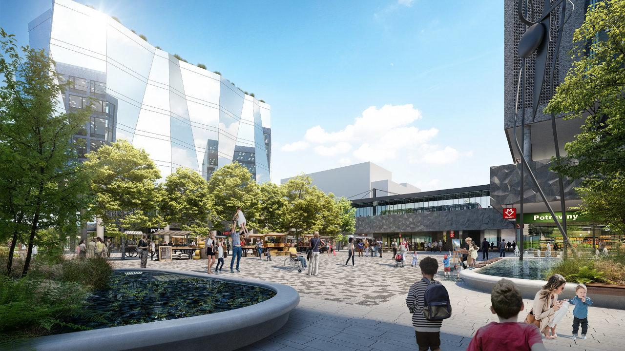 Čtvrť Nový Opatov by se měla začít stavět v roce 2021, dokončení je plánováno na rok 2026.