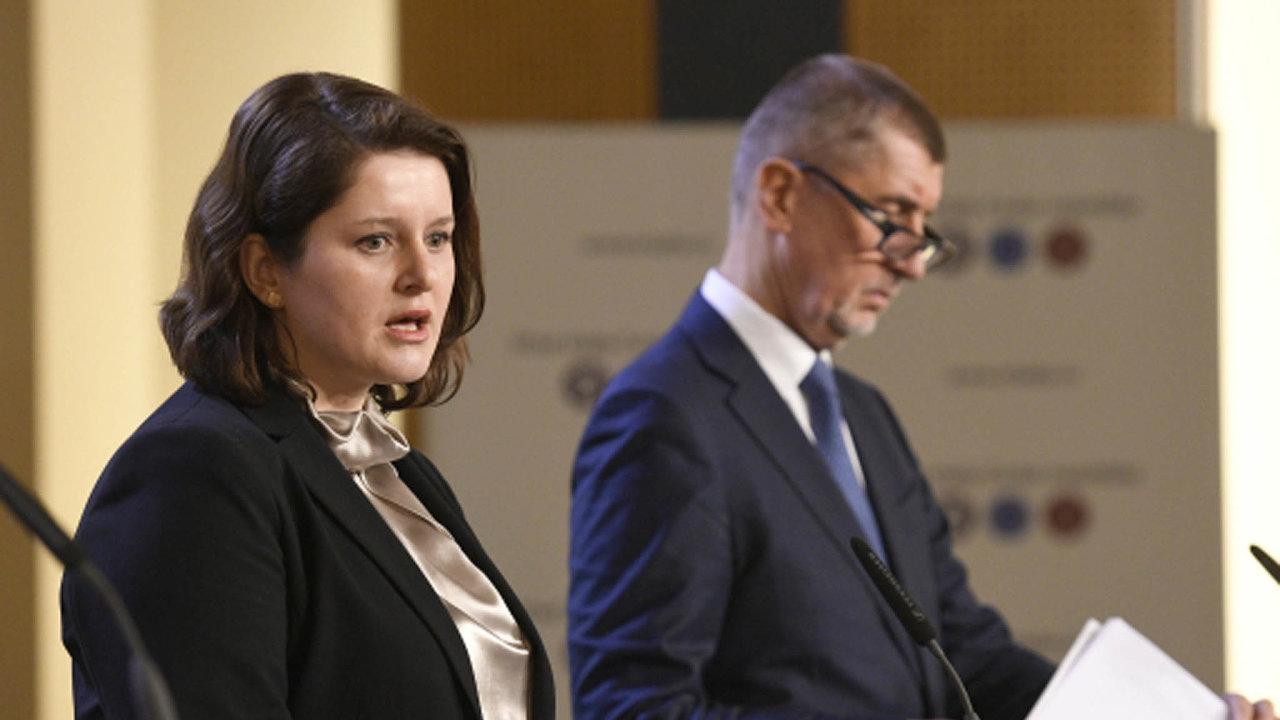Premiér Andrej Babiš je k návrhu na jednotná evropská pravidla pro stanovování minimální mzdu skeptický. Ministryně práce a sociálních věcí Jana Maláčová myšlenku podporuje.