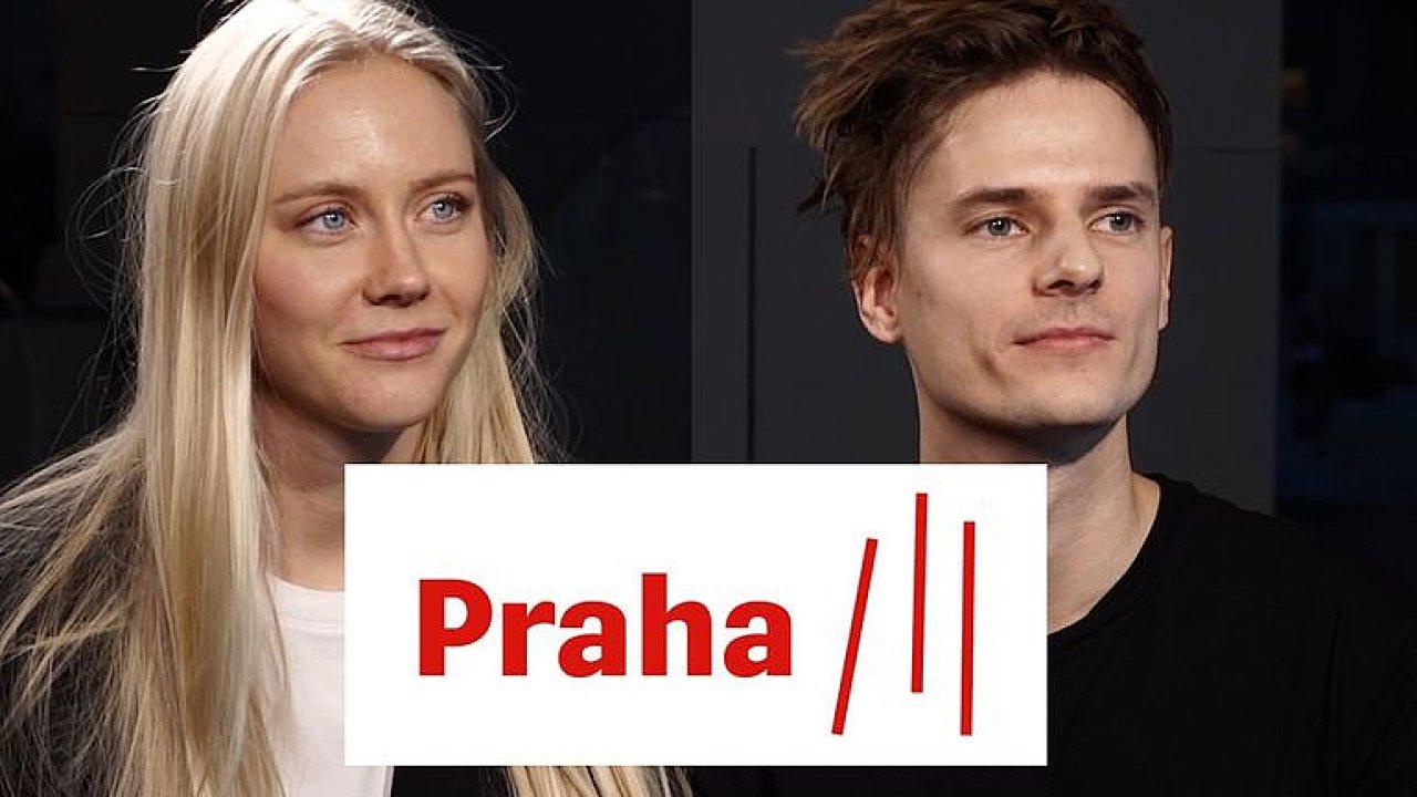 Logo Prahy 3 jako lajny kokainu? Neuráží nás to, parodie jsou super, říkají autoři.