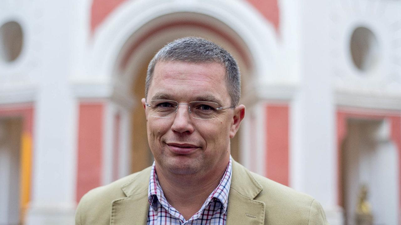Spolumajitel Broumovské firmy Hobra Jan Školník.