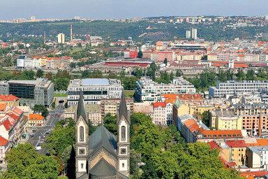 Menší byty vatraktivních částech Prahyjsou kpronajmutí zavýrazně nižší cenynež před začátkem koronavirové pandemie.