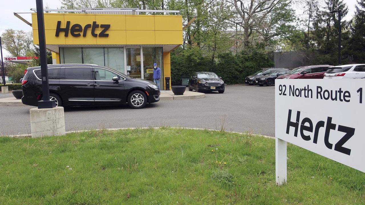 Hertz auto půjčovna bankrot