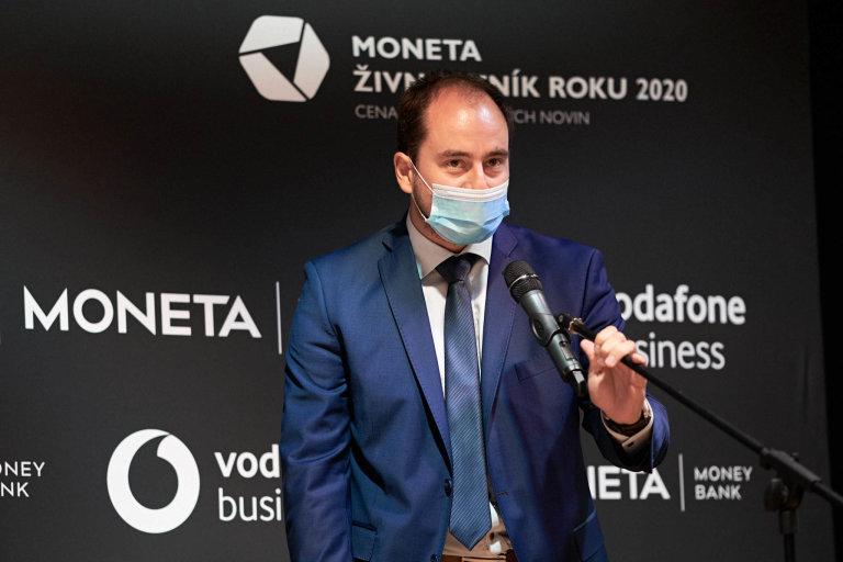 Aleš Erber, Moneta Živnostník roku 2020 Pardubického kraje