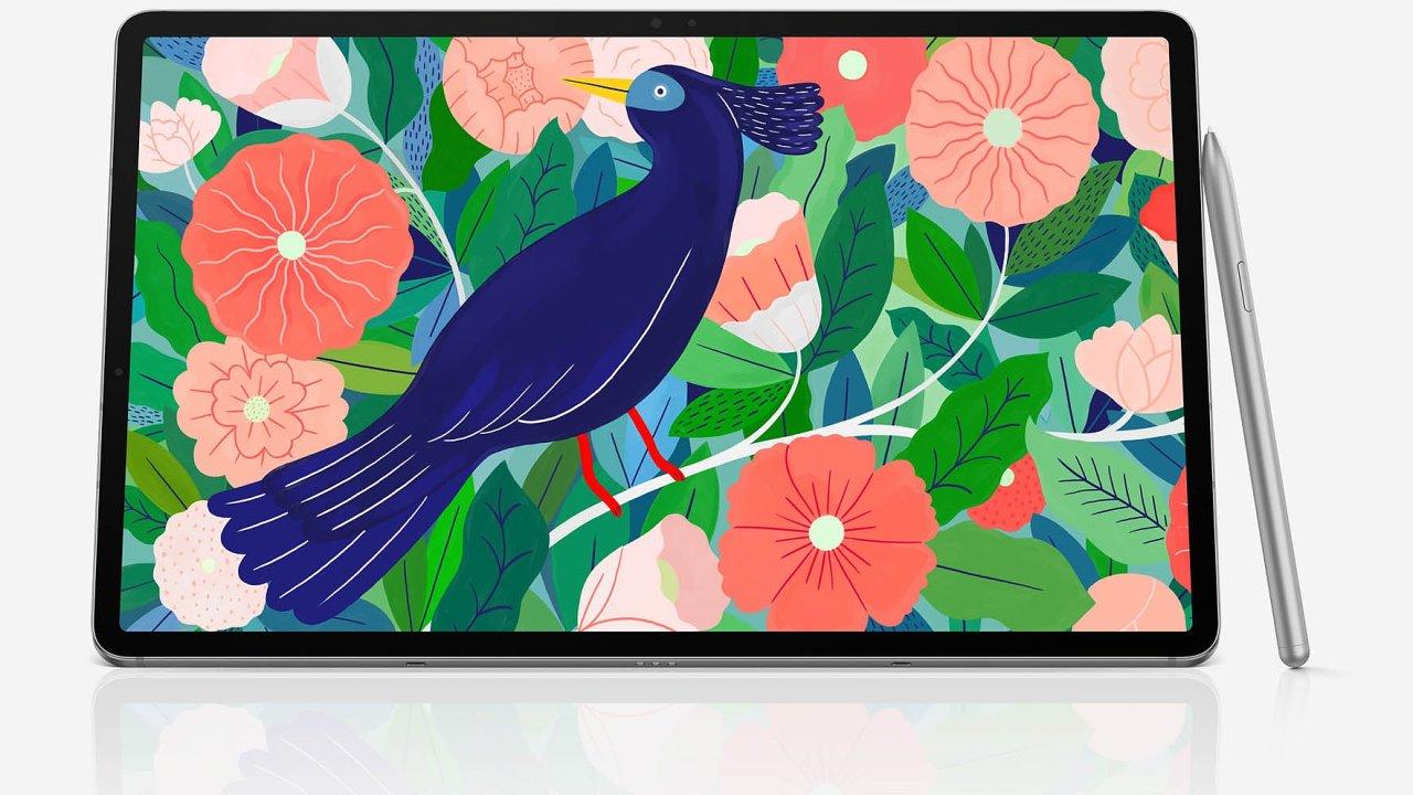 sAMOLED obrazovka svysokou obnovovací frekvencí 120 Hz zobrazuje barvy natolik věrně, že je použitelná ipro náročnější grafickou práci.