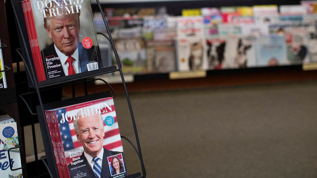 Američané zvolili prezidenta. Vítěz nastoupí do funkce 20. ledna 2021. Měl by to být Joe Biden, ale Donald Trump se vzdát nechce.