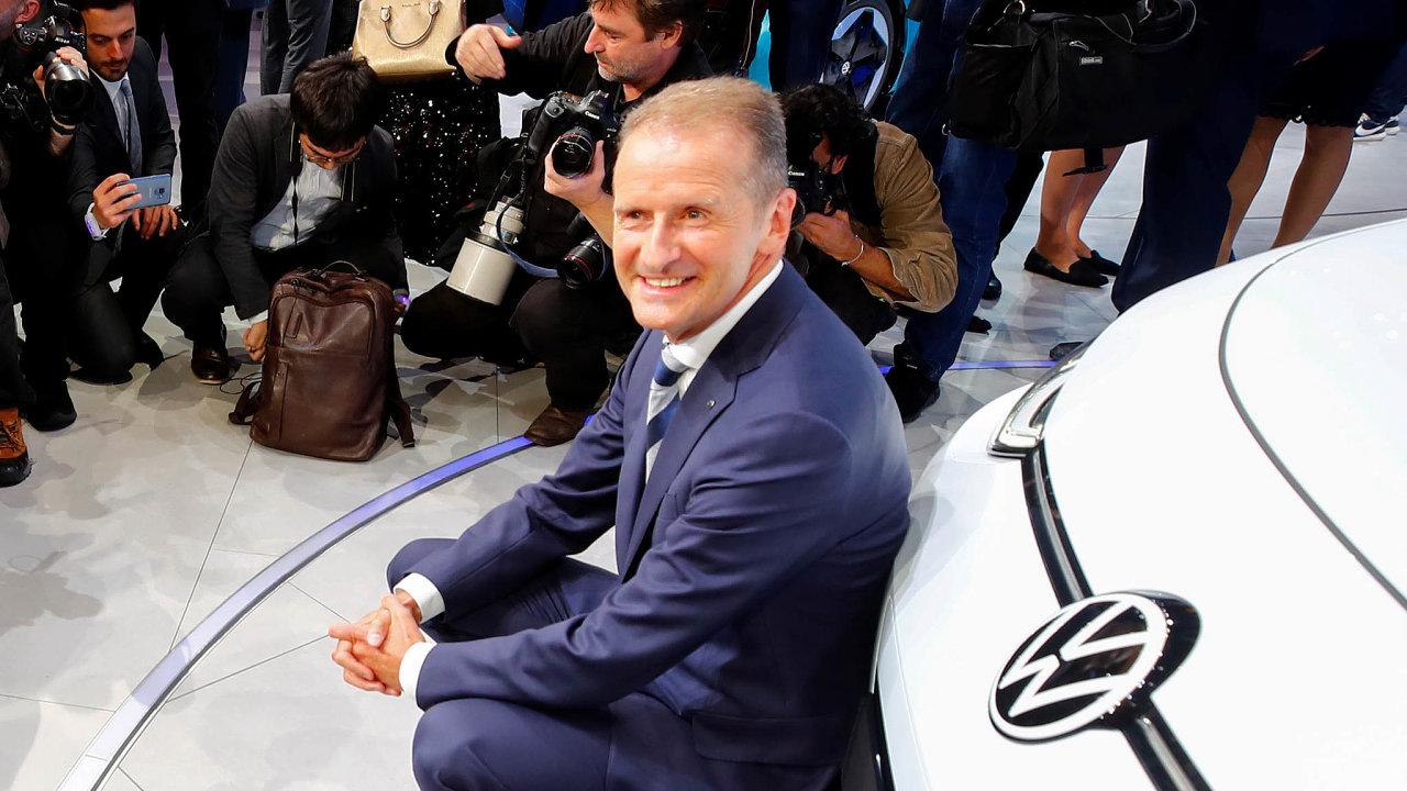 CEO Volkswagenu Herbert Diess.