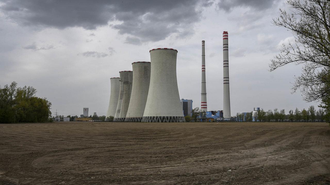 Elektrárna společnosti ČEZ v Dětmarovicích je v Česku jedinou, která spaluje černé uhlí. Kvůli vysokým cenám emisních povolenek ale už rok prakticky nevyrábí.