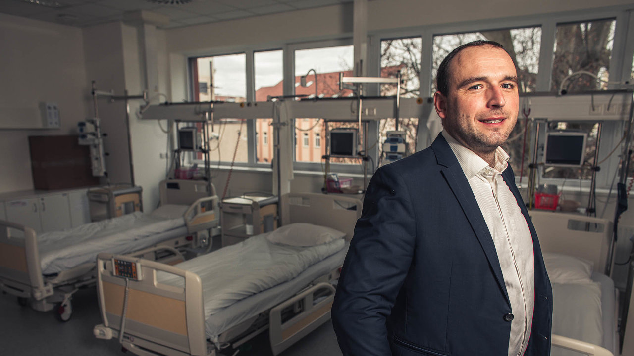 Václav Trojan, ředitel Klinického výzkumu konopí ve Fakultní nemocnici u svaté Anny v Brně