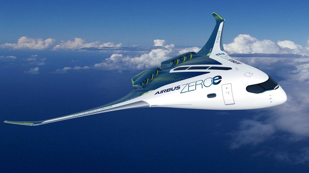 Vodík je podle Airbusu budoucnost