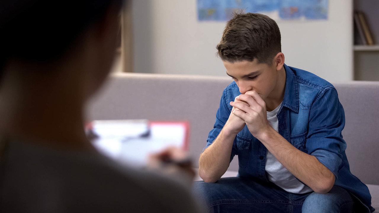 Duševních poruch přibývá mezi dětmi dlouhodobě, pandemie však jejich nárůst výrazně zrychlila (ilustrační foto).