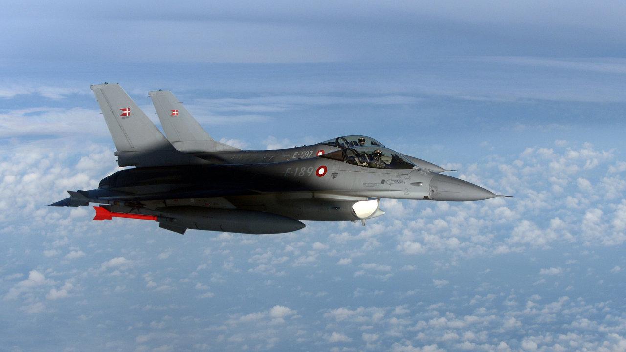 F16, stíhačka, letadlo
