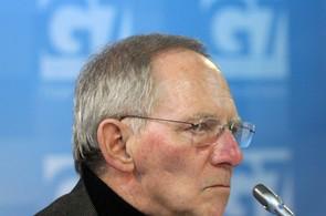 Německý ministr financí W. Schauble