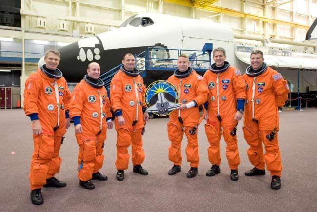 posádka letu STS-132