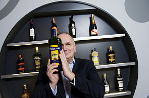 Anthony Schofield, generální ředitel podniku Jan Becher - Karlovarská Becherovka