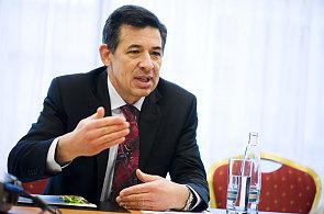 Viceprezident a ředitel marketingu čínské počítačové firmy Lenovo David Roman