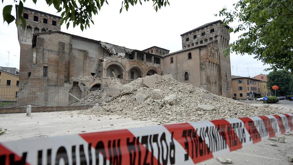 Zemětřesení v Itálii